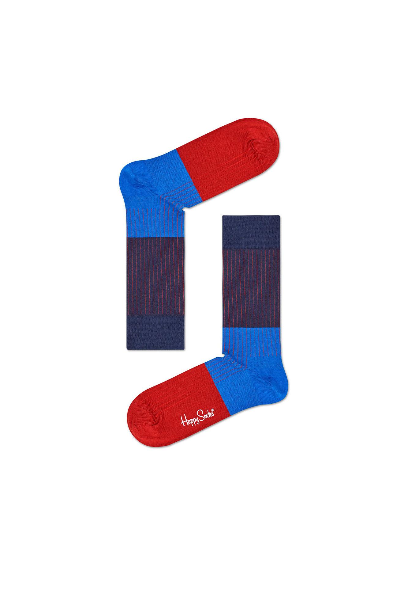 Block Rib Sock BLR01, 6001