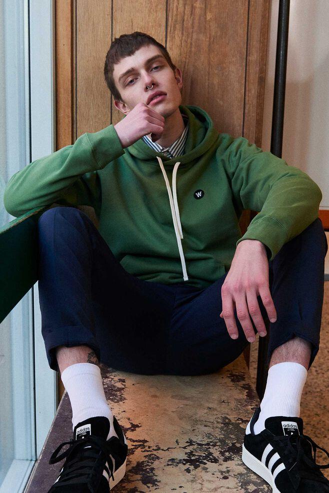 Ian hoodie 10915609-2424, GREEN