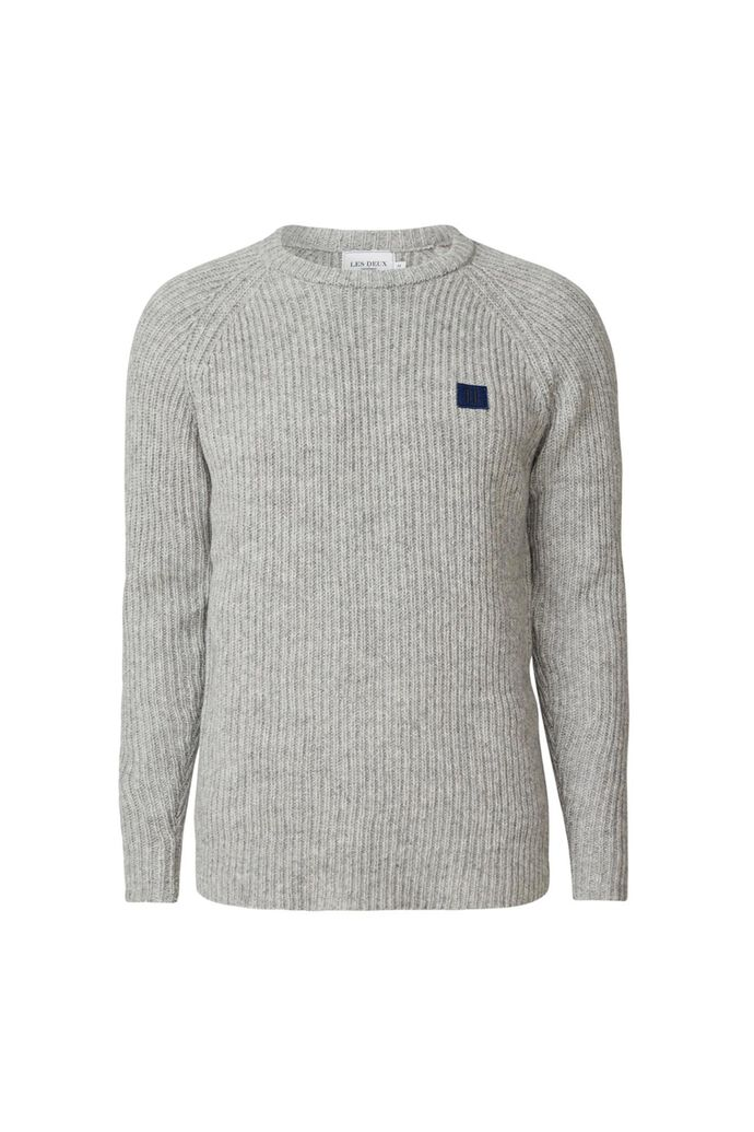 Piece wool knit LDM301024, GREY MELANGE