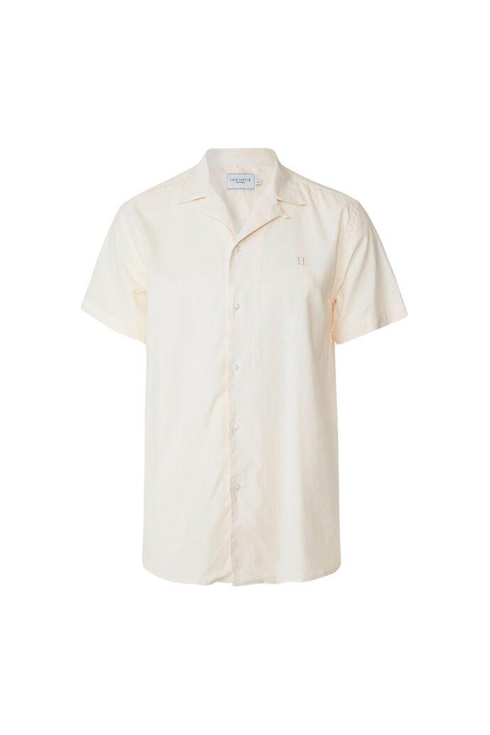 Simon linen shirt LDM401006, OFF WHITE