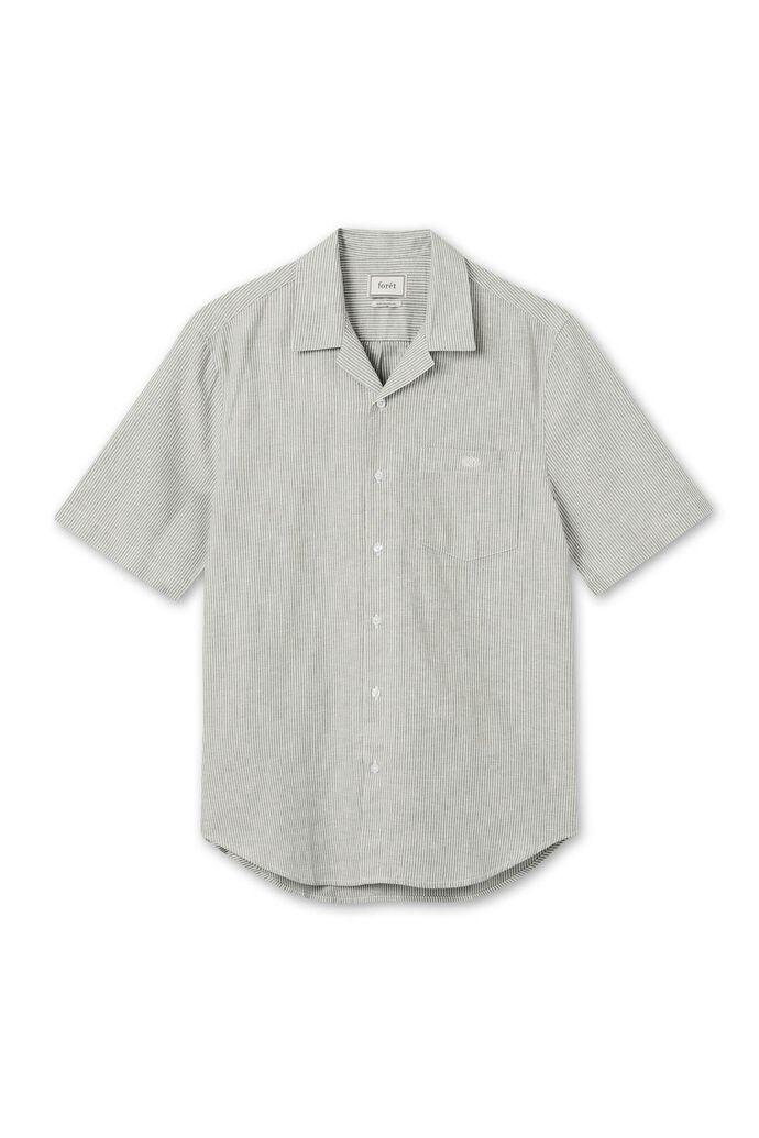 Seek shirt F385, OLIVE/WHITE