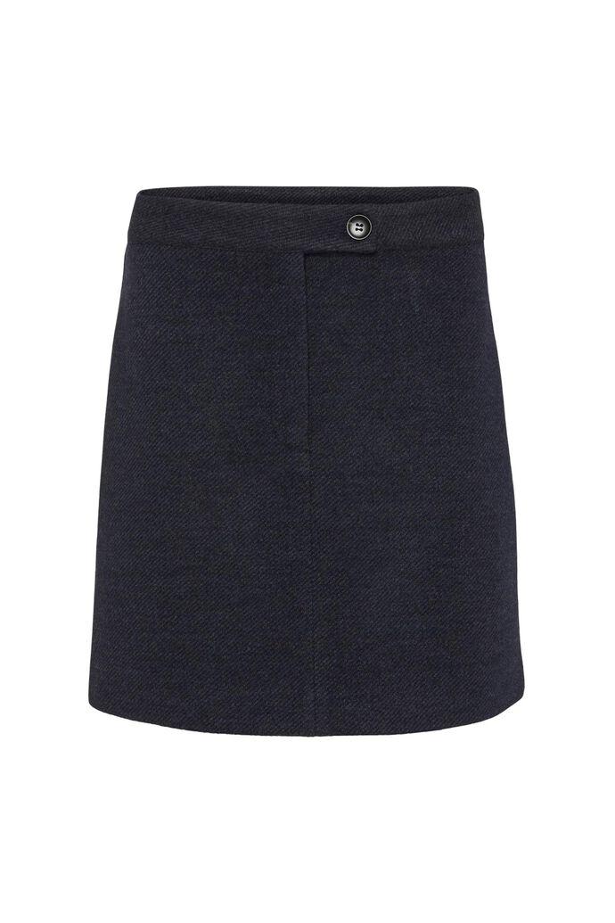 Kenia skirt 11861125, BLUE MELANGE
