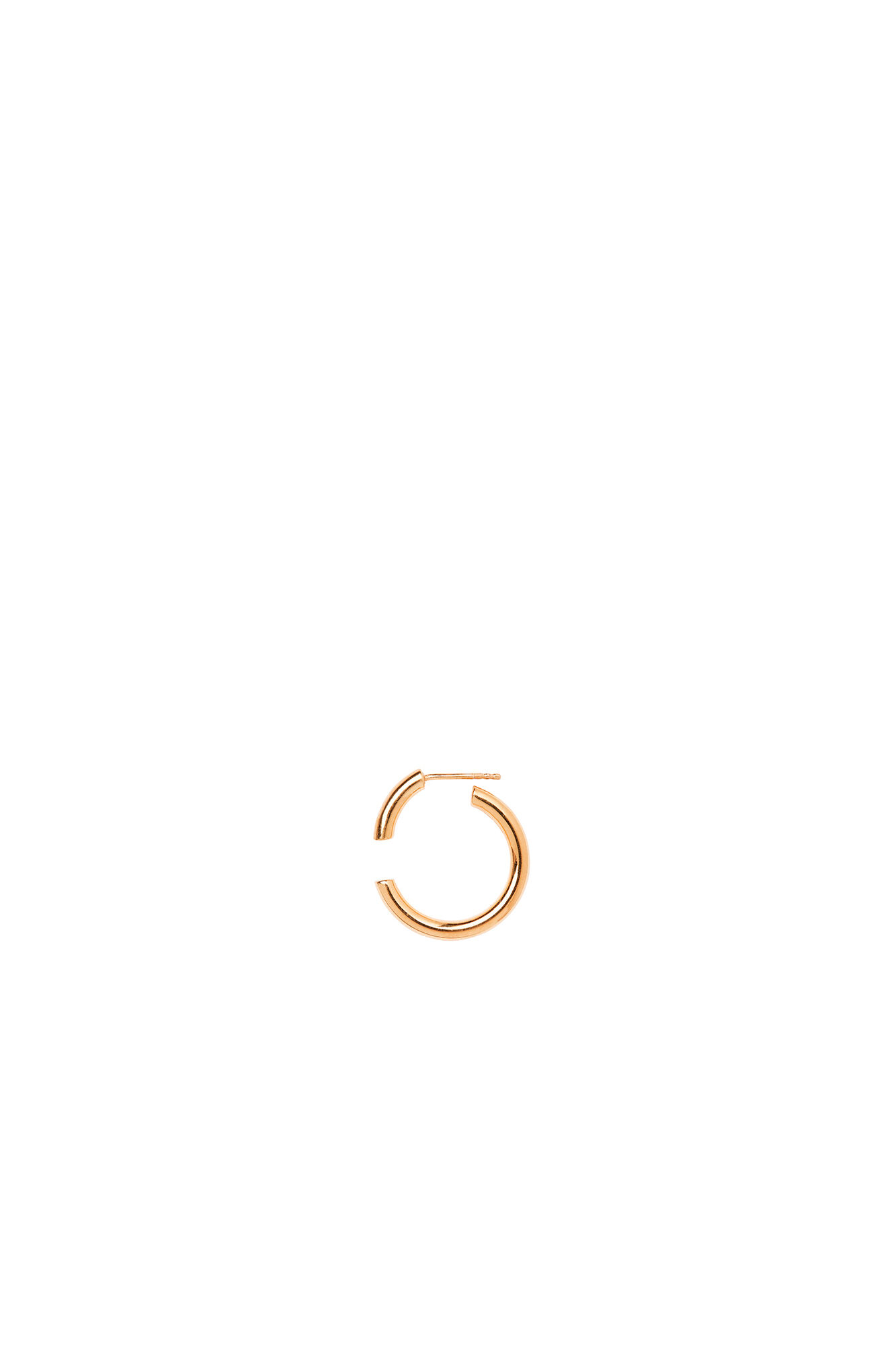 Disrupted 22 Earring, GOLD