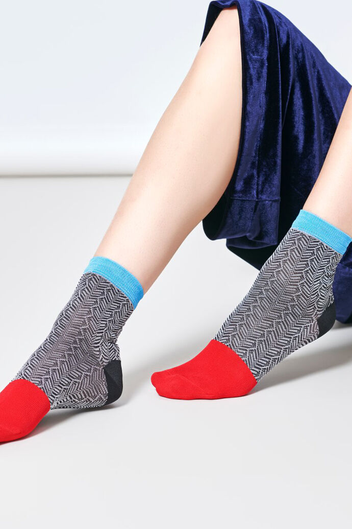 Jill Ankle Sock SISJIL12, 9001