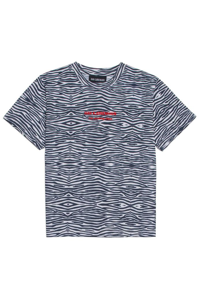 Artwork tee F-130082, ZEBRA