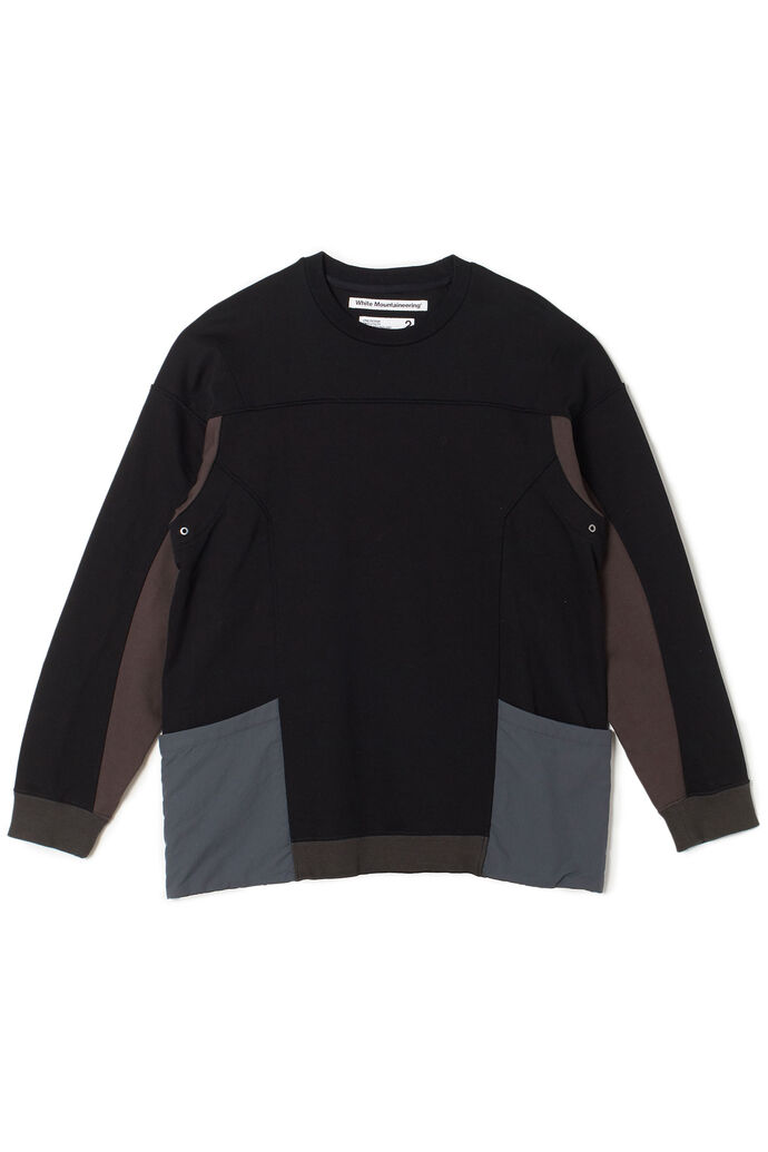 Contrasted sweatshirt