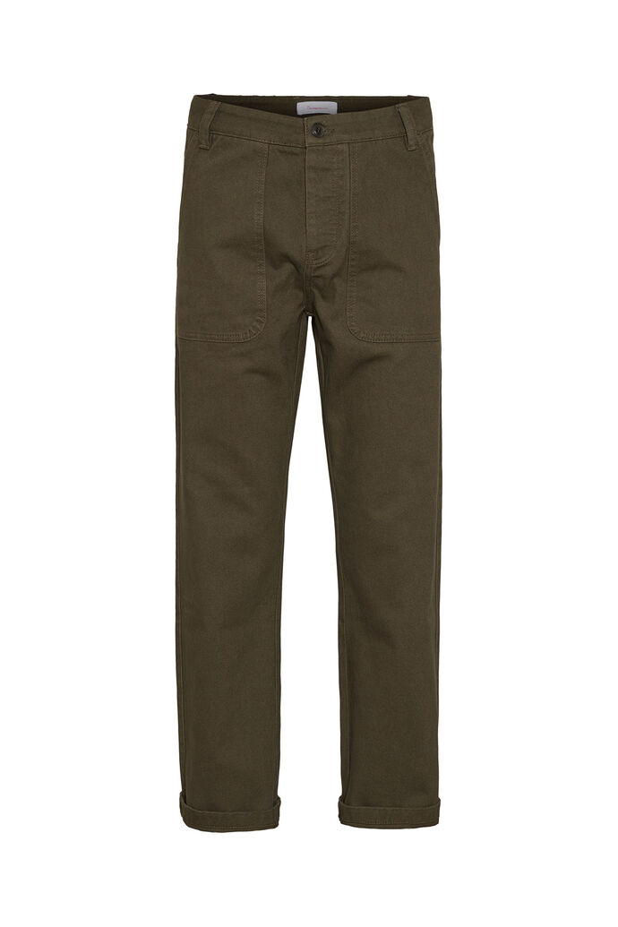 Loose heavy twill pants, FORREST NIGHT