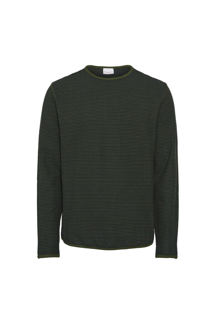 Striped double layer sweat