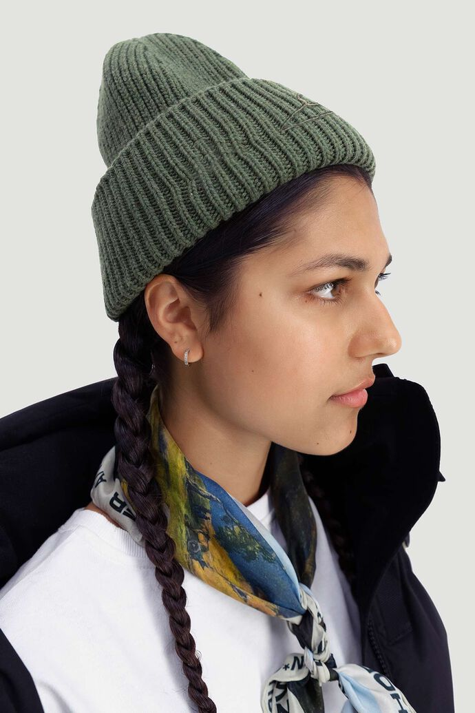 Hypnotized beanie, DARK GREEN