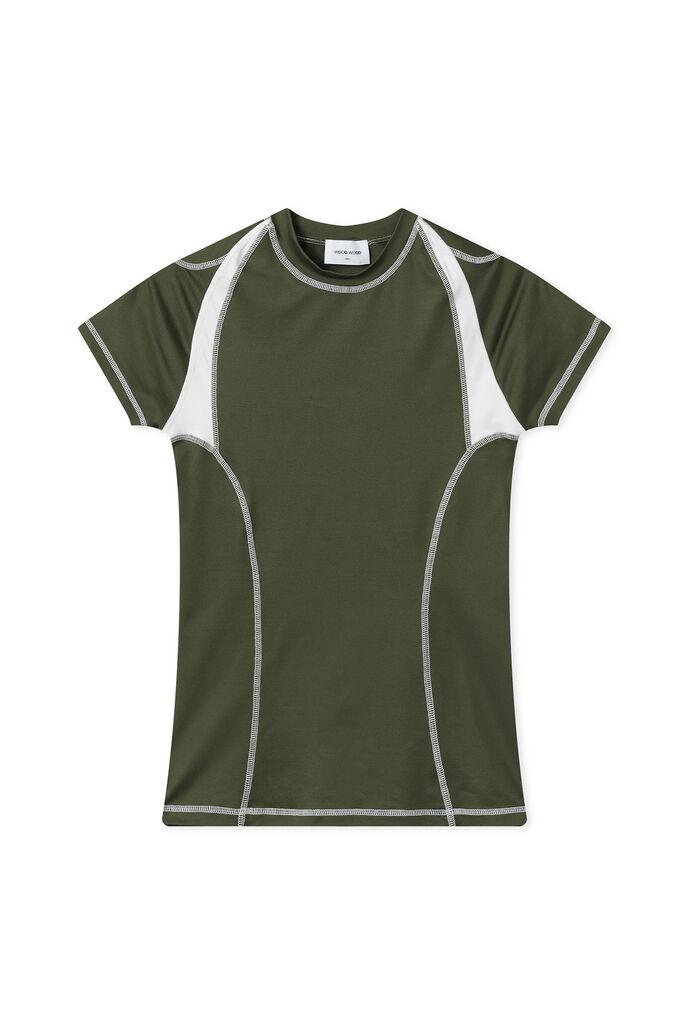 Emma t-shirt 12012503-2478, DARK GREEN