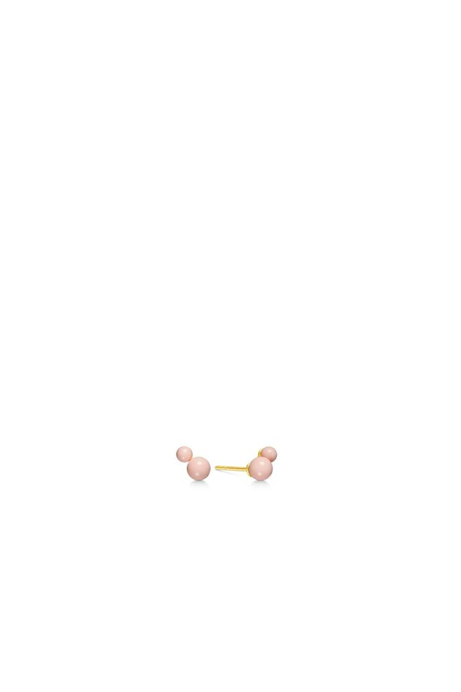 Candy earstuds IDS027GD, GOLD/ROSE