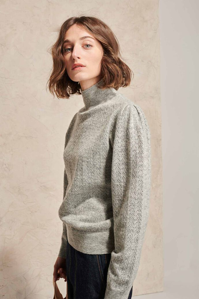 Suzanne sweater 02020WS, GREY