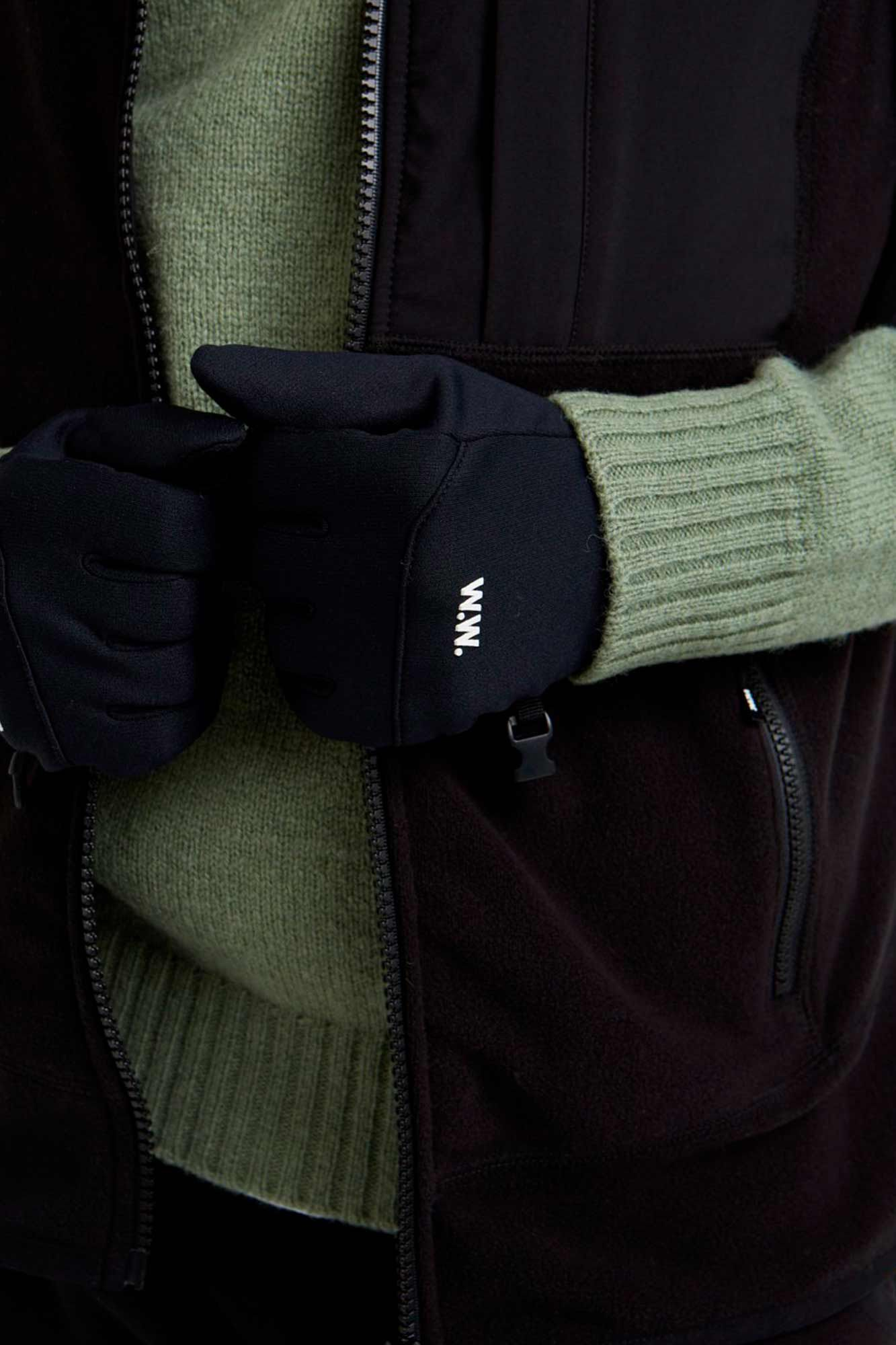 Holger gloves 11939006-9971, BLACK