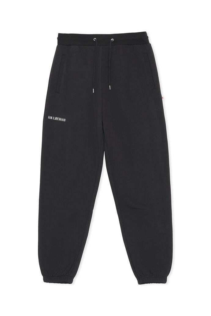 Sweat pants M-130306, BLACK LOGO