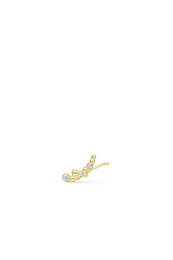 Pacific single earring, GOLD/LEFT