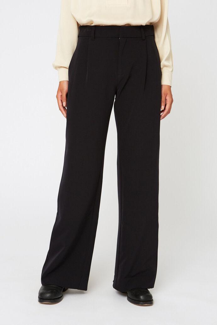 Real trouser, BLACK