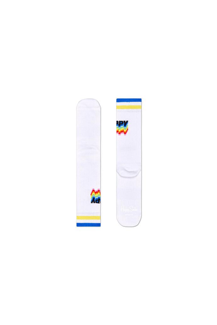 Athletic happy sock
