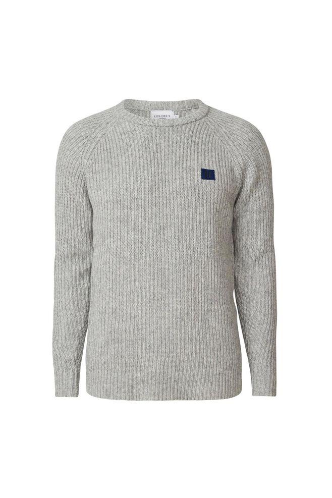 Piece wool knit LDM301024, GREY MELANGE