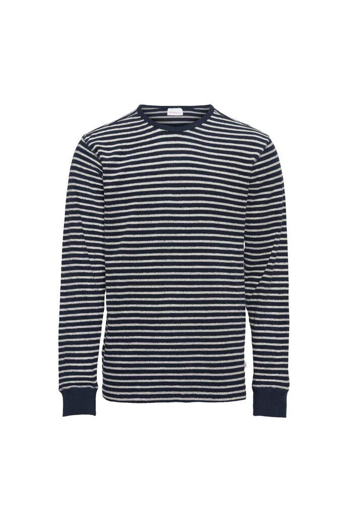 Striped velvet sweat, TOTAL ECLIPSE 1001