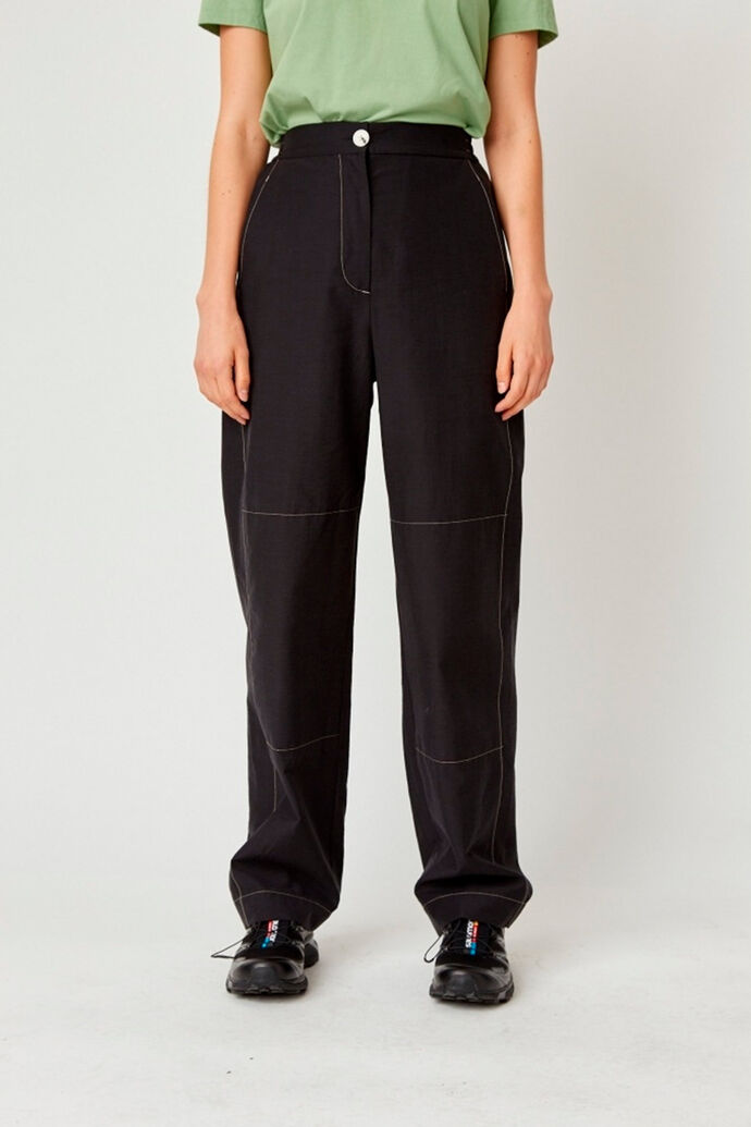 Tilly trousers 12011601-1173, BLACK