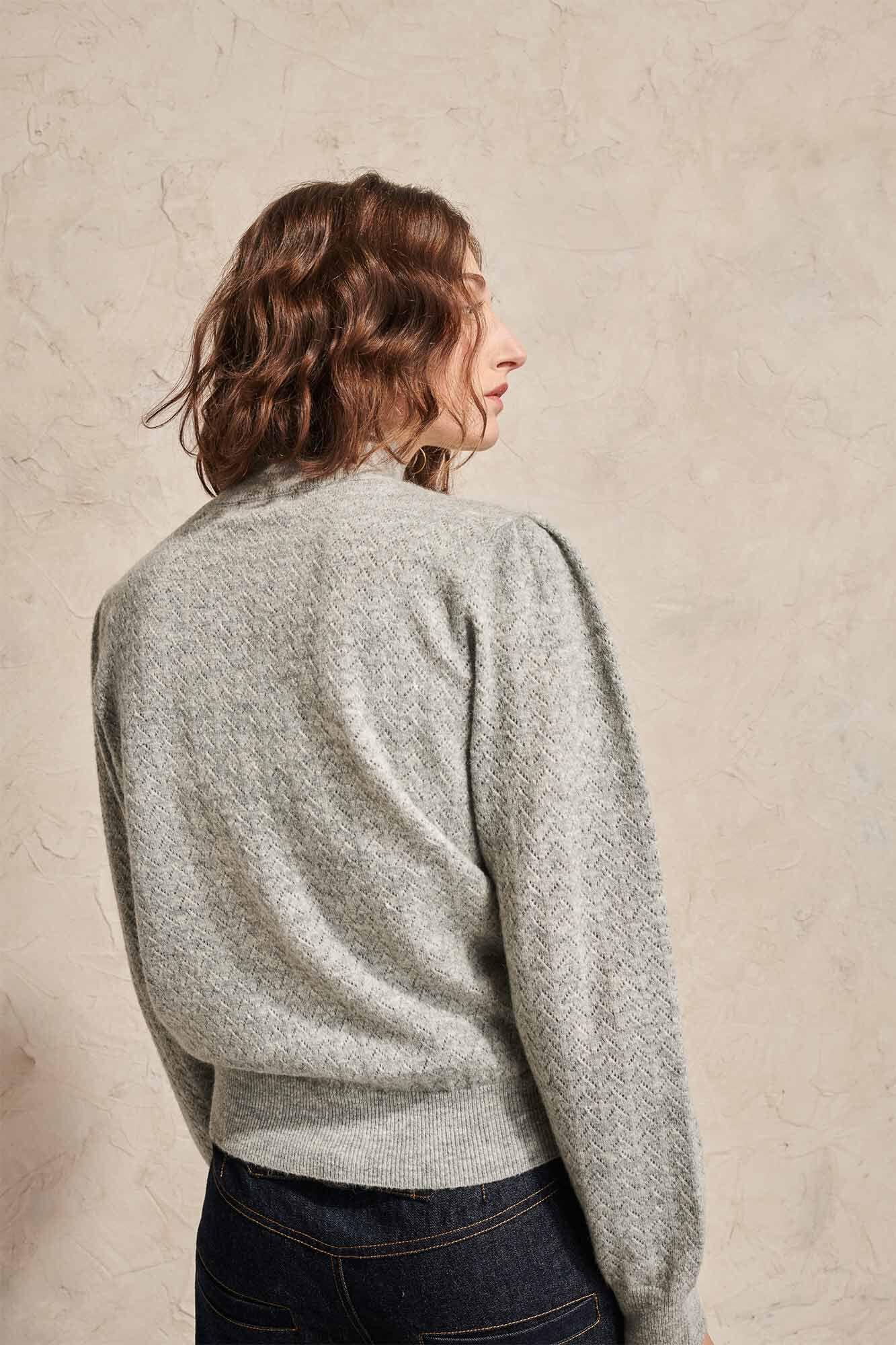 Suzanne sweater 02020WS, GREY