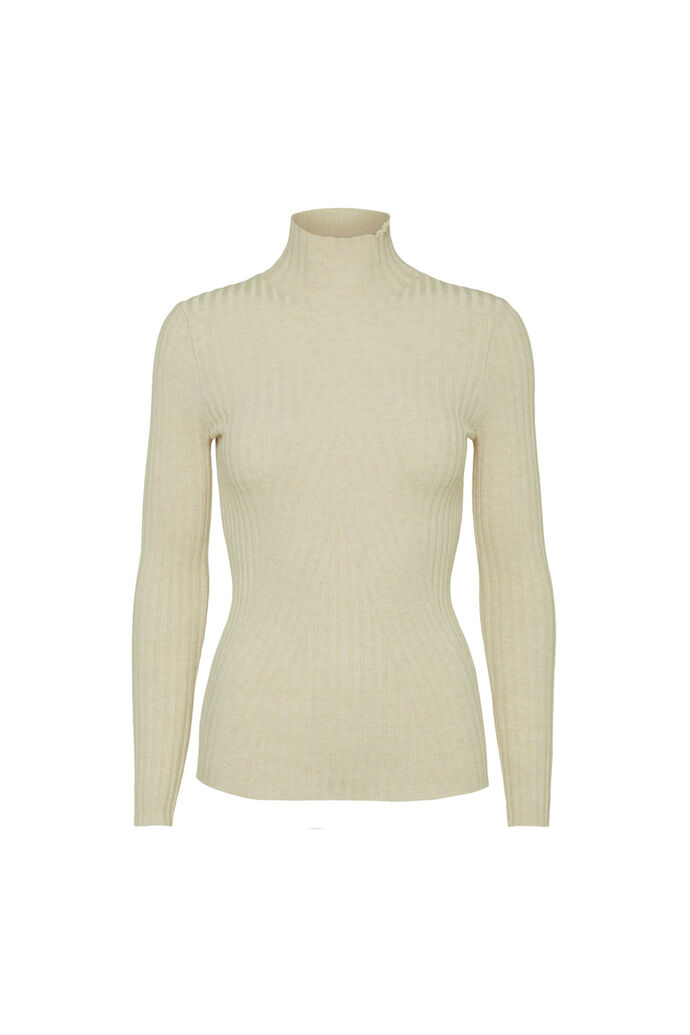Chelsea ls knit top 11861502, OFFWHITE