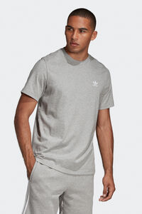 Essential Tee DV1641, MEDIUM GREY HEATHER