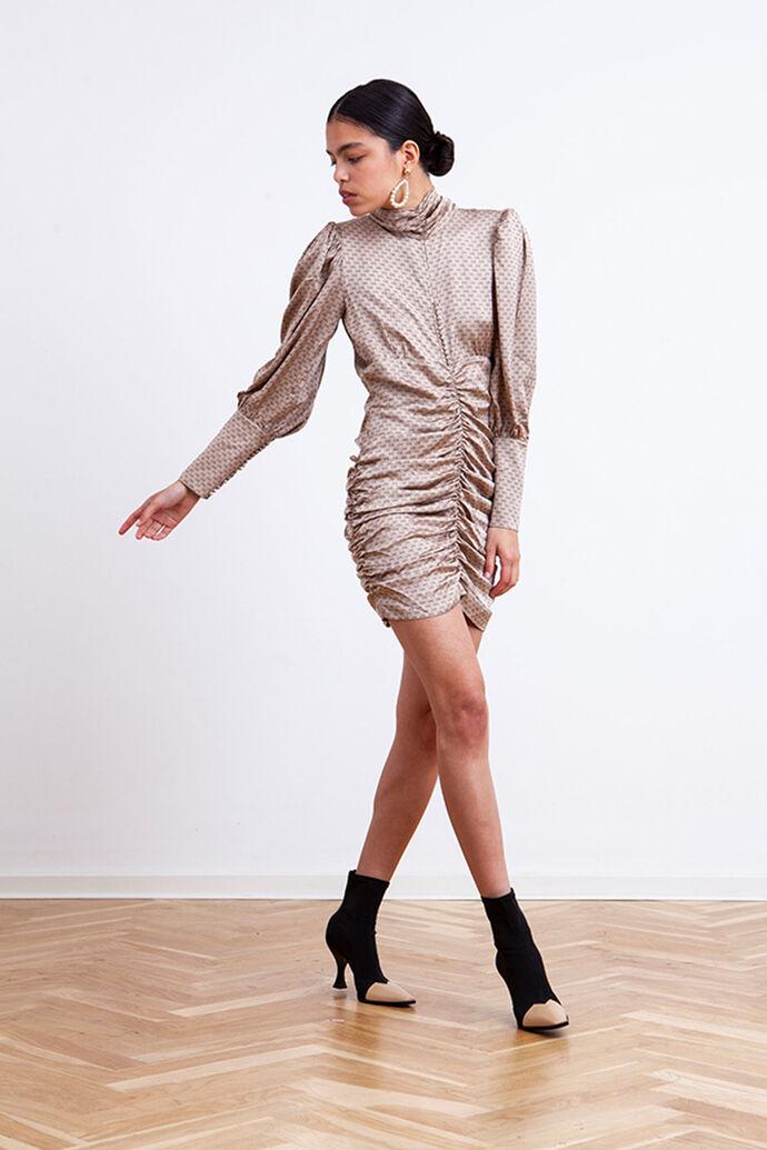Benji dress 3417370-163, SMOKE GREY LOGO