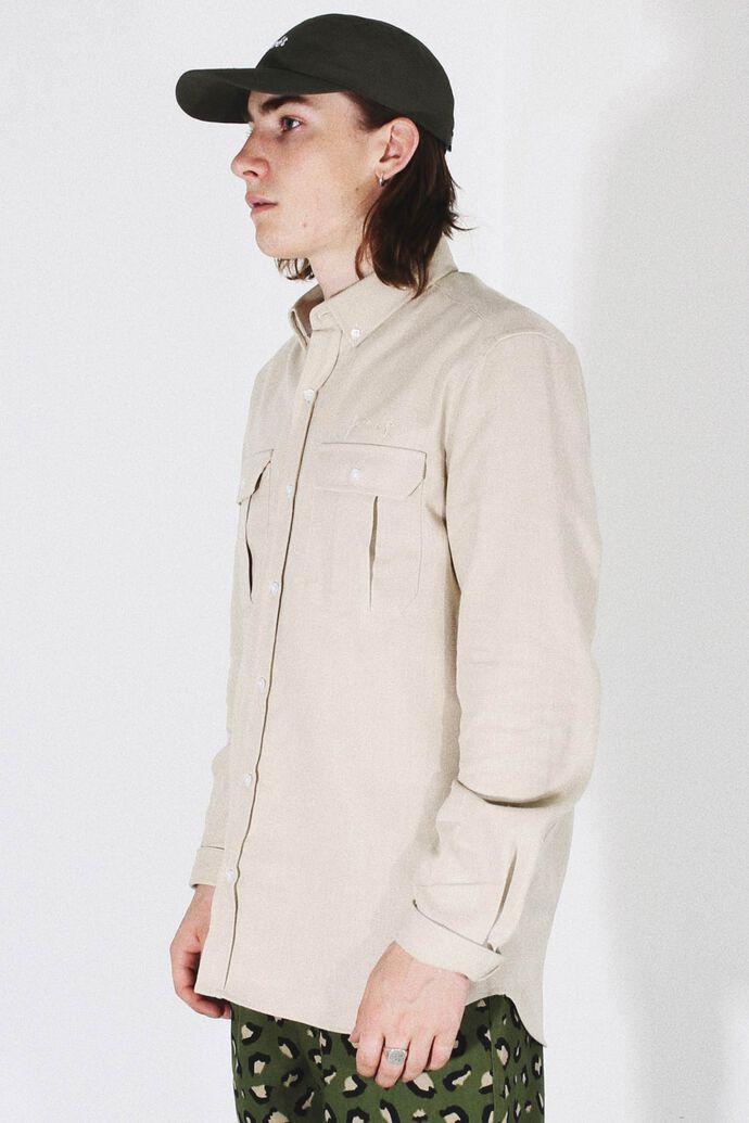 Lunar shirt F367, SAND
