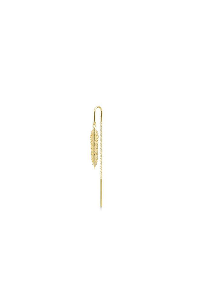 Raven earring IDE011GD, GOLD