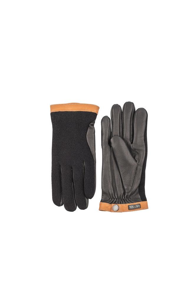 Deerskin wool Tricot 20450, BLACK/BLACK