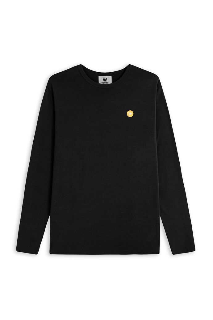 Mel long sleeve, BLACK