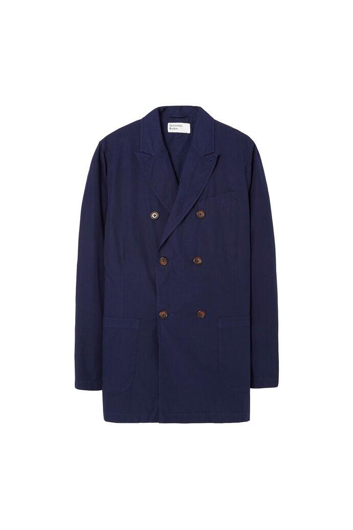 Manor jacket, POPLIN NAVY
