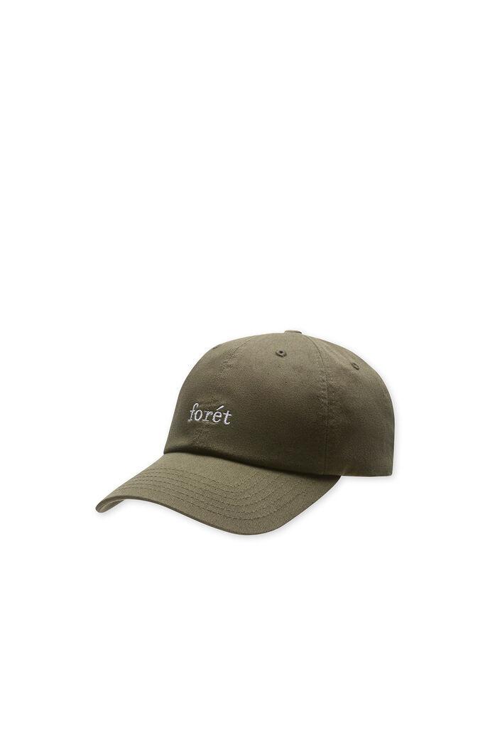 Raven cap, ARMY/WHITE