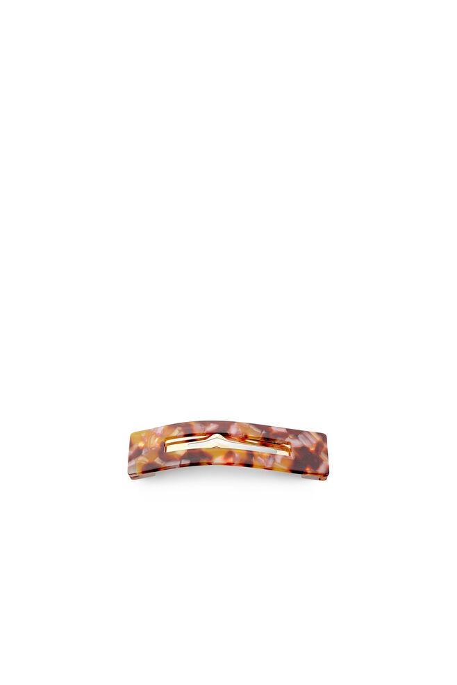 Amalie clip, BROWN/PINK