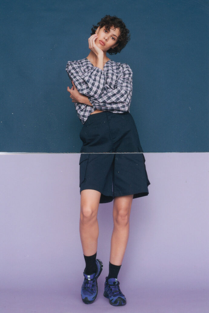Uno shorts 08940500, NAVY