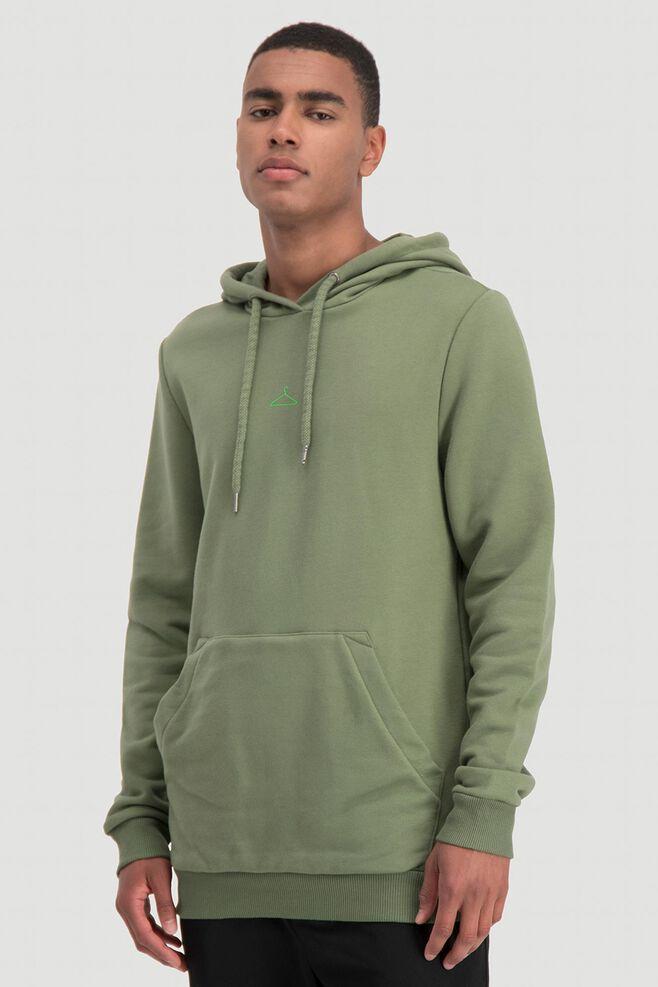 Hanger hoodie sweat 10508, GREEN