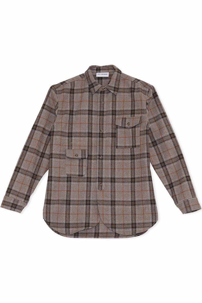 Army shirt M-130271, LIGHT CHECK