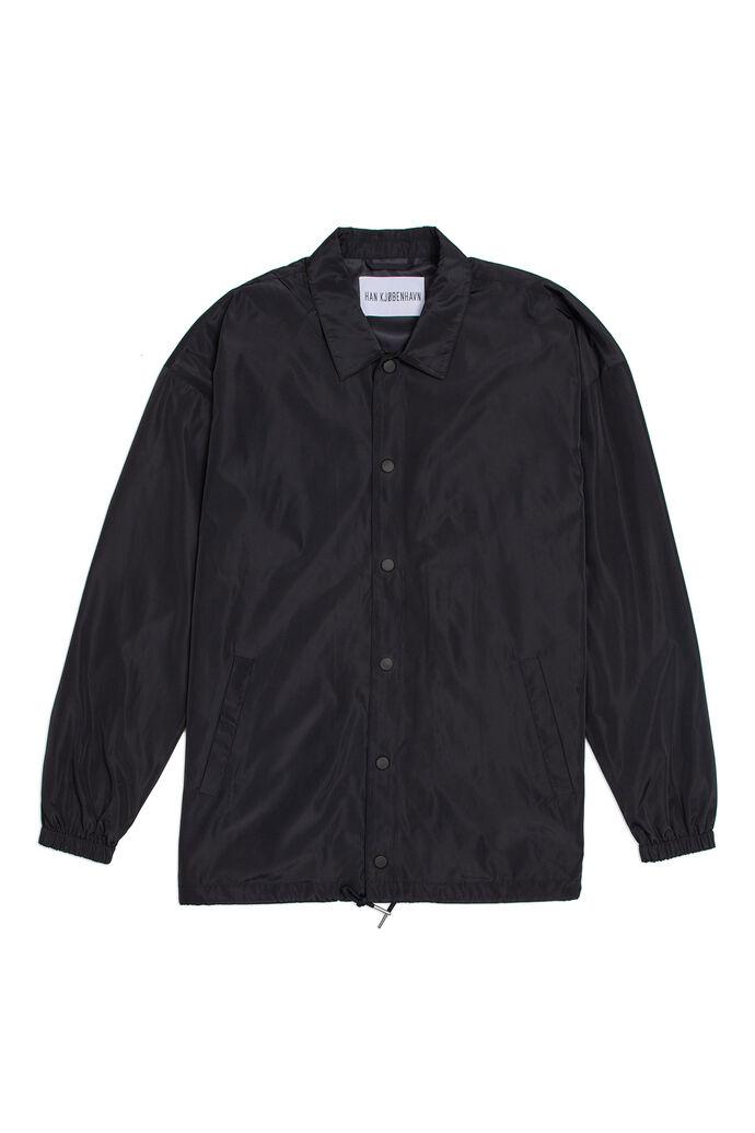 Coach jacket M-130006, BLACK NYLON