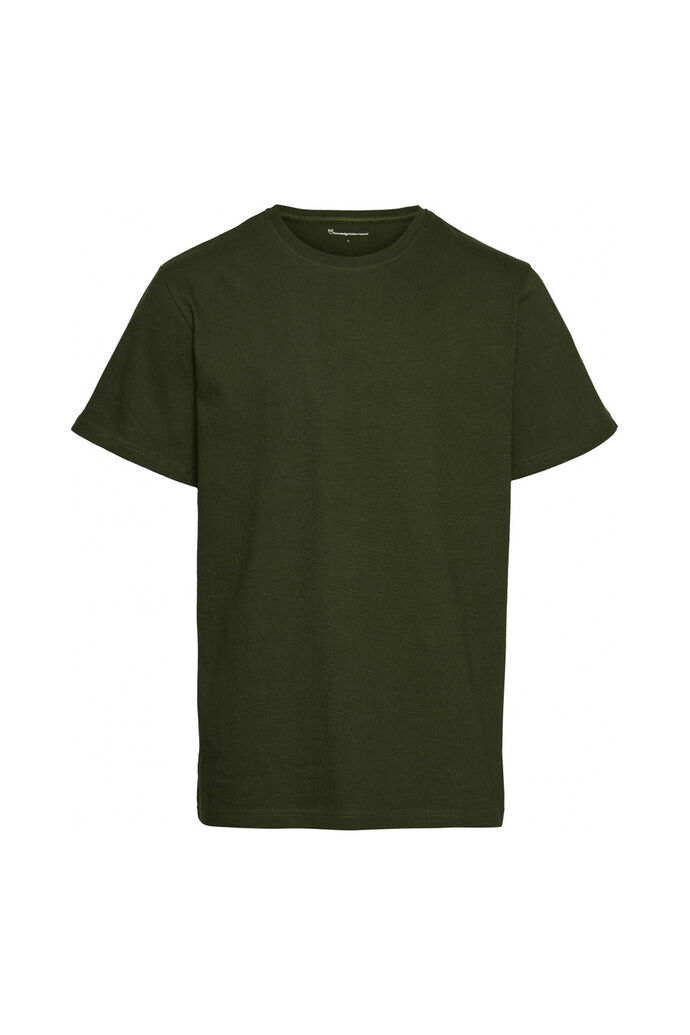 O-neck tee gots 10543, GREEN FOREST 1278