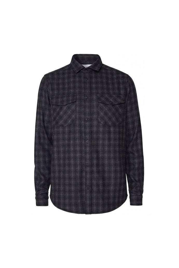 Bryson check wool shirt