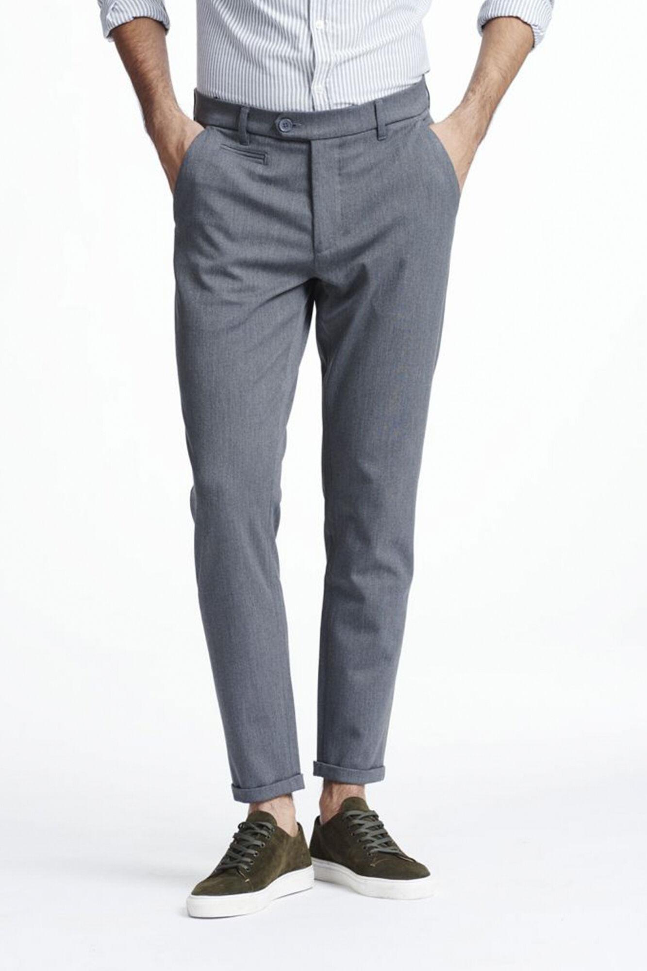 Como Suit Pants LDM501001, GREY MELANGE
