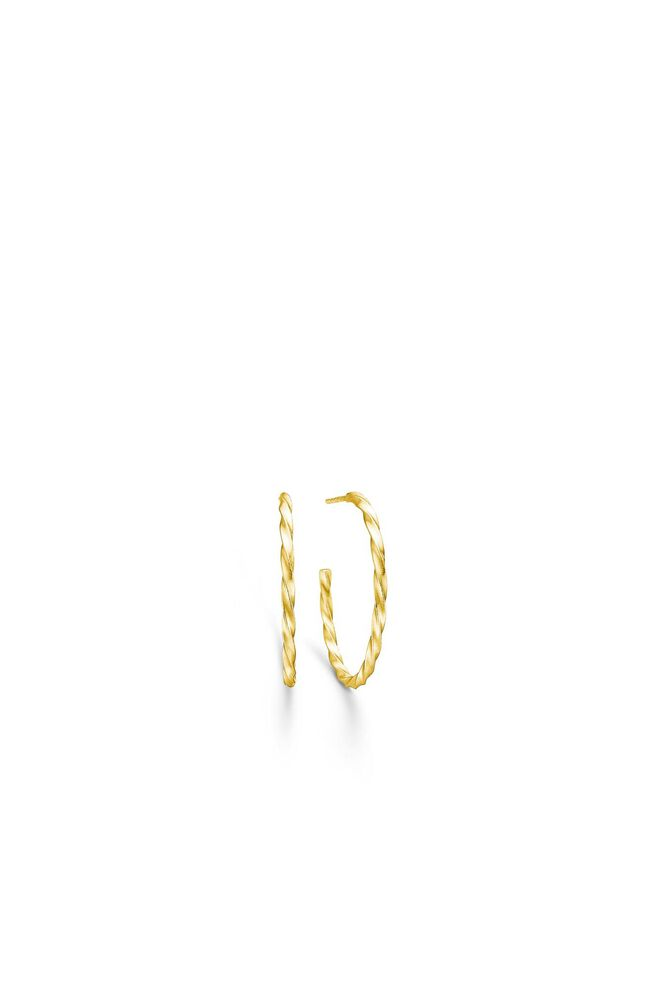 Unicorn medium hoops IDH23GD, GOLD