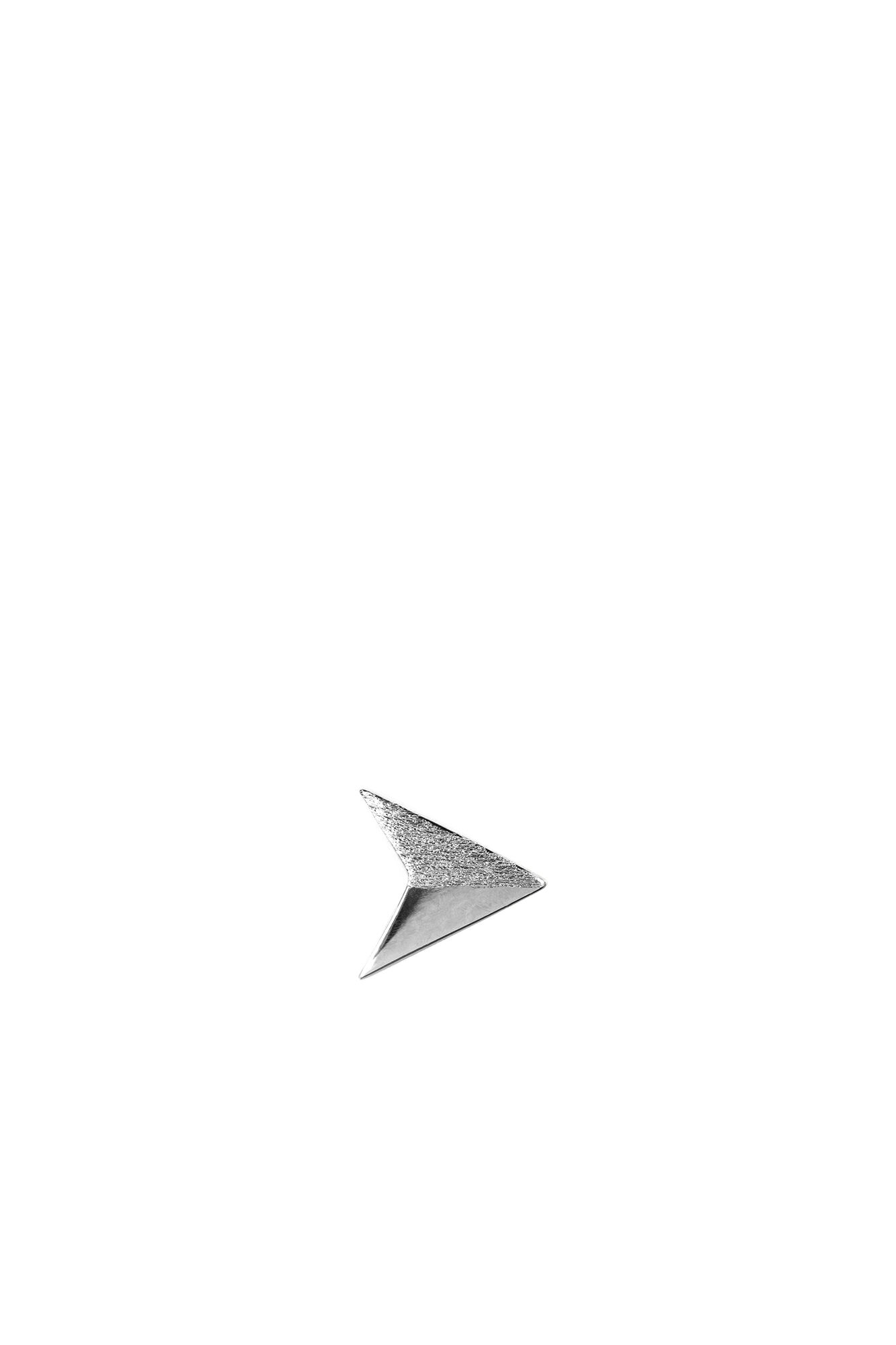 Paperplane Ear Stud LULUE198, SILVER