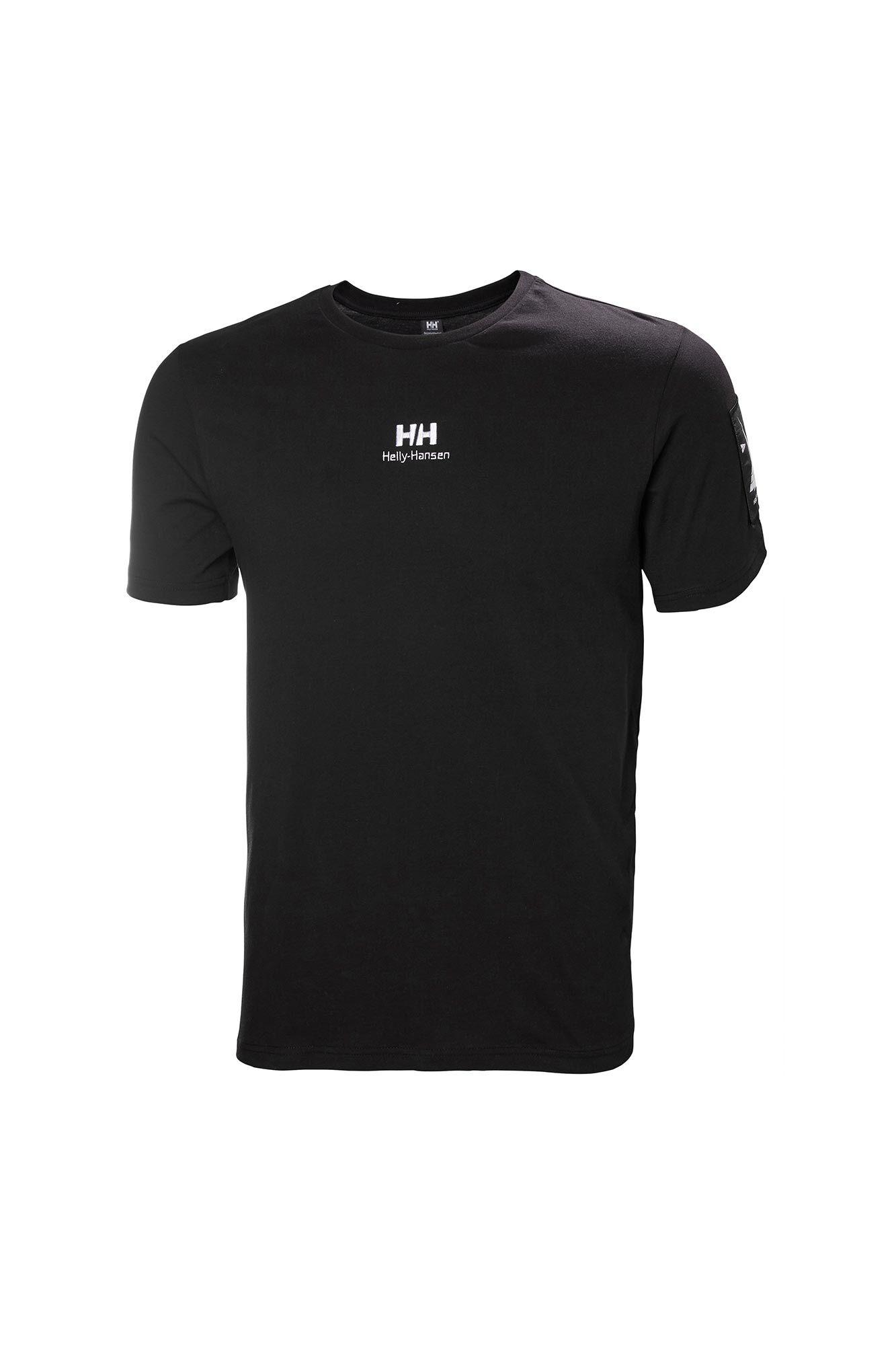 Yu twin logo t-shirt 53391, BLACK