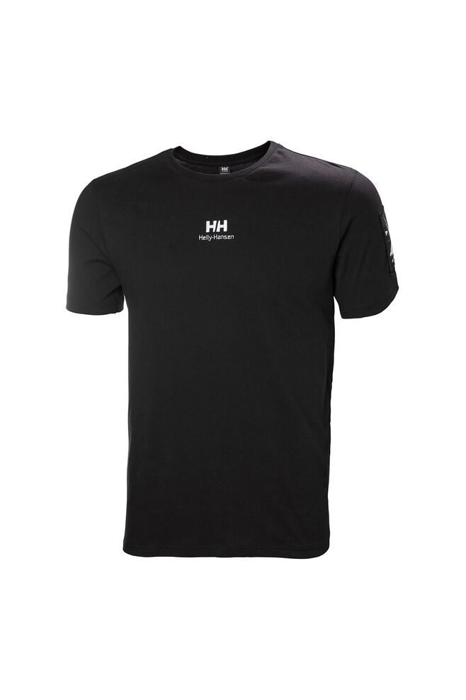 Yu twin logo t-shirt 53391, BLACK