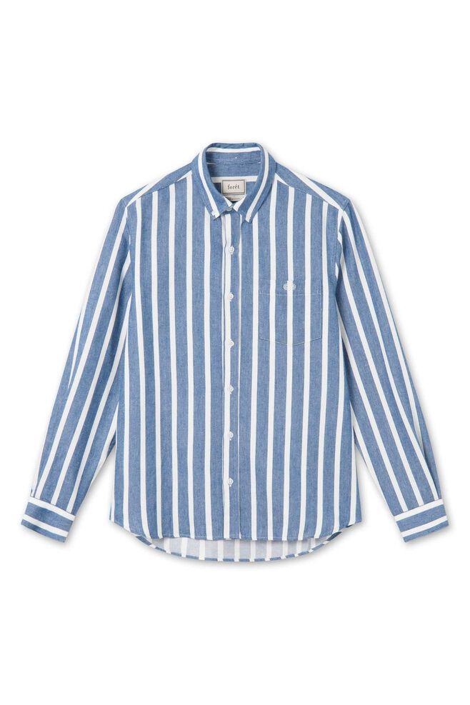 Sun shirt 683, WHITE/BLUE