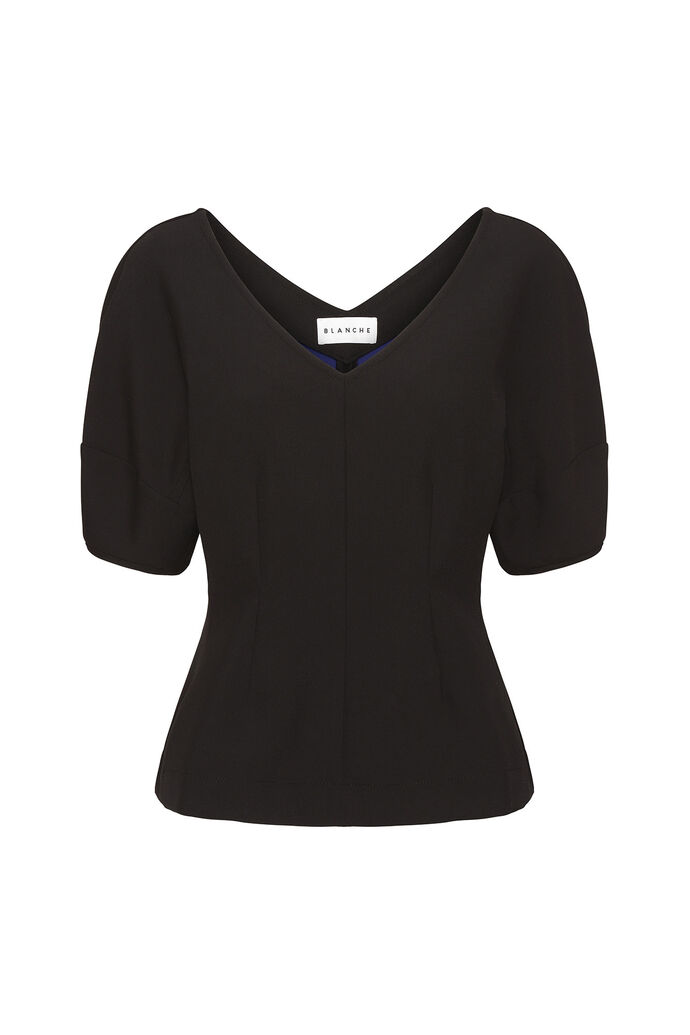 Helena blouse, BLACK