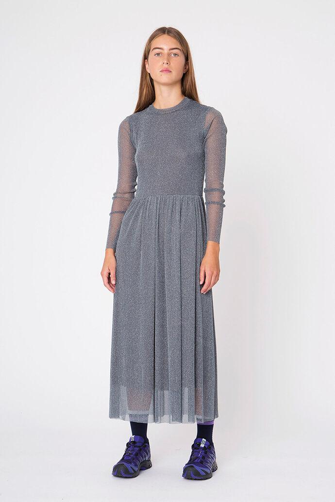 Suri dress 08010041, SILVER GREY