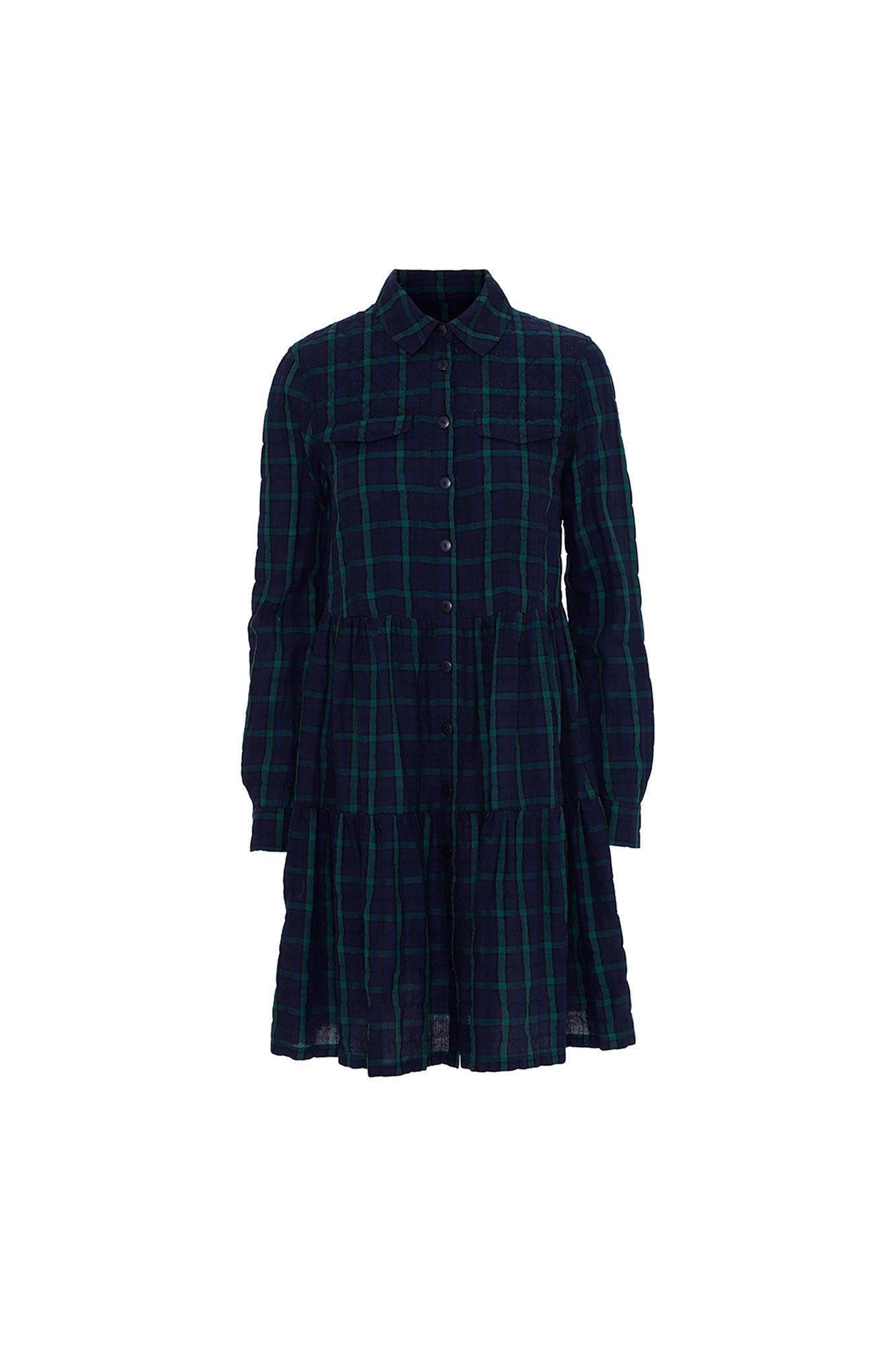 Sabrina dress 3361623, TARTAN